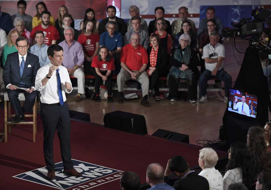 Town hall on enemy turf? Fox News debate divides 2020 Dems