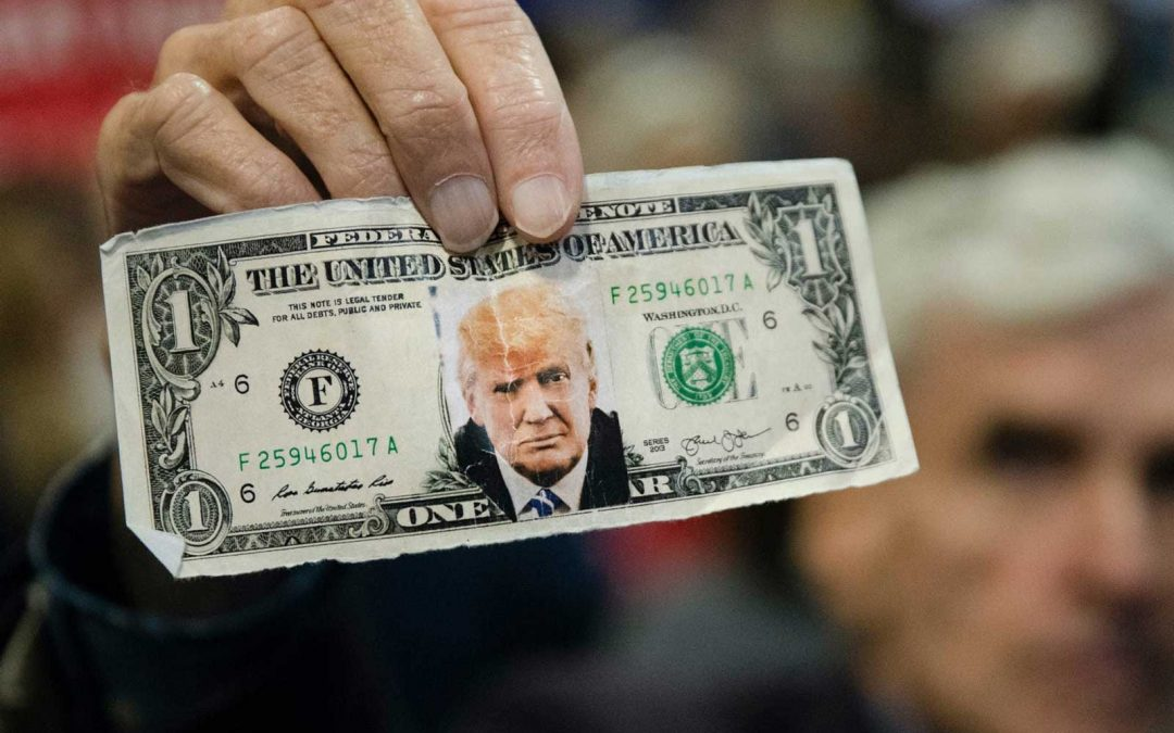Donald Trump isn't at risk of running out of campaign cash, election data shows