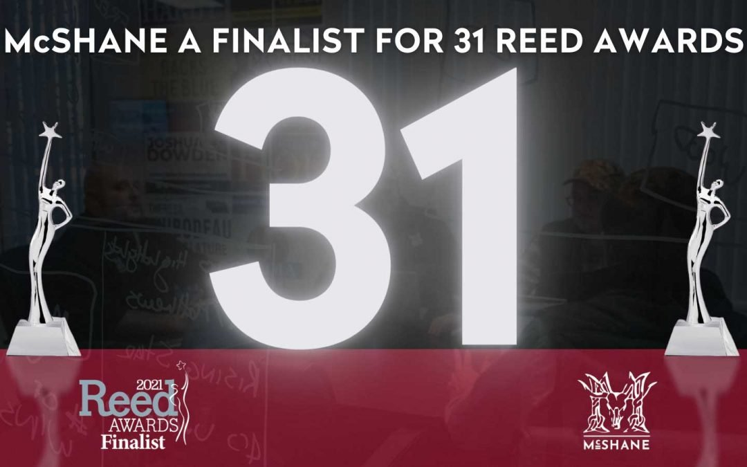 McShane LLC Named Finalist for 31 Reed Awards
