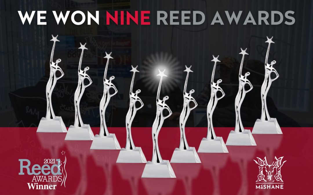 McShaneWinsNine Campaigns & Elections Magazine Reed Awards