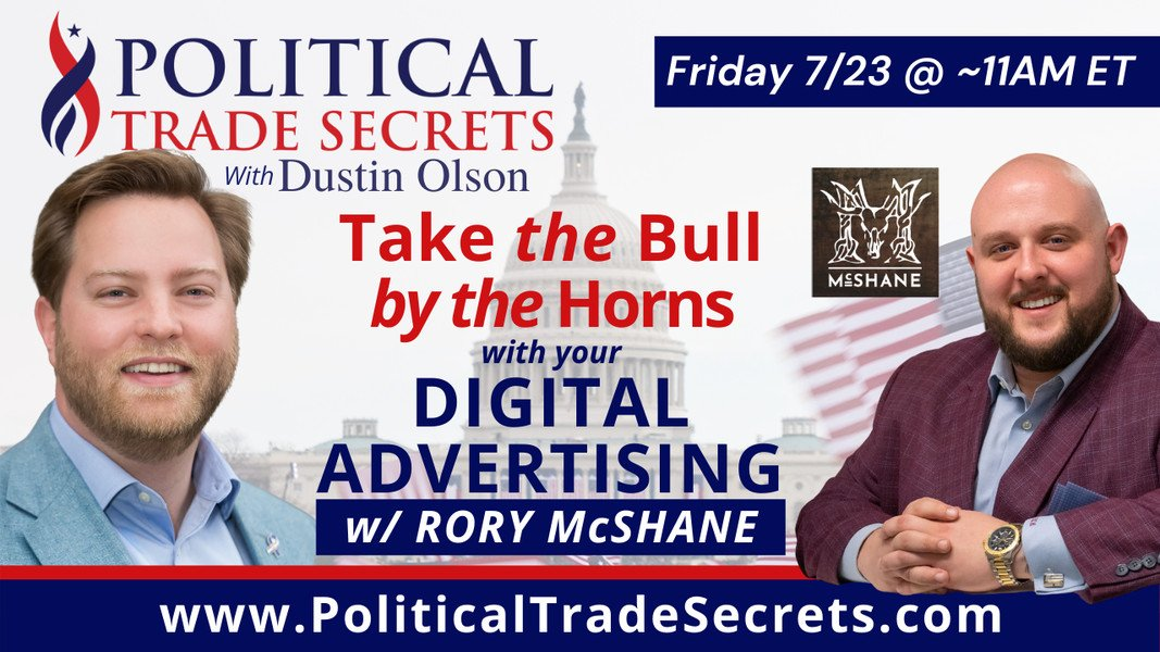Rory McShane interview with Political Trade Secrets